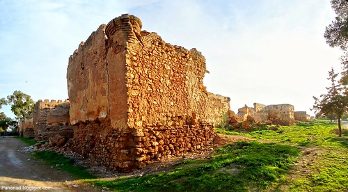 Le mur d'Al kasaba de Selouane