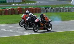 Start of Single Cylinder race (Steelback) Tags: kodak motorcycle z740