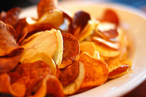 Plantain and Sweet Potato Chips by lynch_m_j, on Flickr