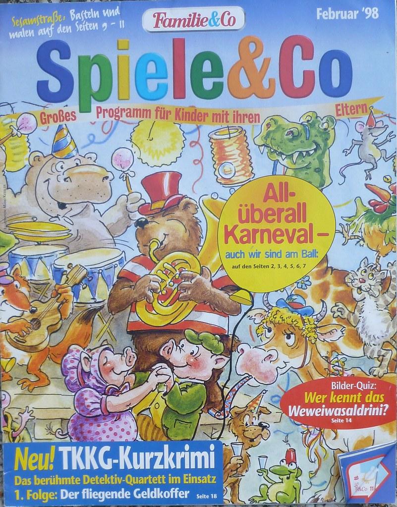 Spiele & Co Heft Februar 1998 Stepas piglets Tags lesen pig