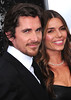 Christian Bale and wife Sibi Blazic