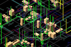 "3D BIM Plumbing Design • <a style=""font-size:0.8em;"" href=""http://www.flickr.com/photos/79462713@N02/7593187318/"" target=""_blank"">View on Flickr</a>"