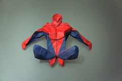 Spider-Man (Juanfran Carrillo) Tags: origami spiderman araa paperfolding papiroflexia hombre