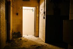 light destroys the shadow (Sam Scholes) Tags: door old light shadow building abandoned digital dark utah nikon mine mining doorway coal hiawatha industrialdecay d300 kingcoal kingmine usfco unitedstatesfuelcompany