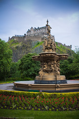 Edinburgh Castle (bazmcq) Tags: uk house castle heritage fountain gardens canon garden eos scotland highlands edinburgh edinburghcastle alba unitedkingdom britain united capital great north scottish princesstreet kingdom historic highland scot historical british scots 500d barrymcqueen yahoo:yourpictures=yourbestphotoof2012