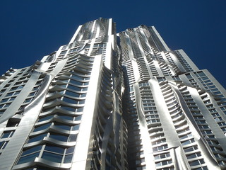 Civic Center Area - 8 Spruce Street - Frank Gehry