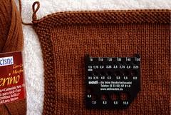 Amostra Lauriel - agulha 3.00mm - seca (Valeria Ferreira Garcia) Tags: swatch sweater cardigan tric amostra suter ysolda lauriel cardig