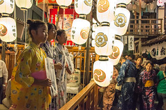 KYOTO DAYS ~ Gion-Matsuri Festival (junog007) Tags: light summer people girl festival japan night nikon kyoto child gion 28300mm d800 gionmatsuri gionmatsurifestival