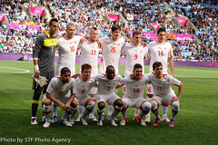 2012 Olympic Games July 29th (Stanthefan) Tags: england game sport switzerland football soccer gro