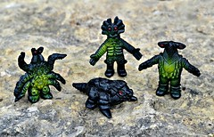 Kaiju mini figures (LittleWeirdos) Tags: japan toys japanese creatures figures kaiju ultraman minifigure japanesetoys minifigures plasticfigures plasticmonster plasticmonsters japanesemonsters monsterfigures monsterfigure