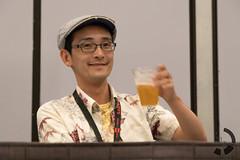 Beer Smile (UnsignedZero) Tags: california food macro object indoor indoors inside item zun in losangelescounty losangelesconventioncenter downtowncounty tangiblegoods junyaota