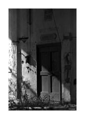 Zenit 122 - Pentacon 135mm (dcanalogue) Tags: zenit 122 classic vintage slr 35 mm film camera carl zeiss jena pentacon electric 135 f28 kodak tmax tmy 400 400tmy iso agfa rondinax system ars imago fd developer development developed black white photography abandoned rome place cityscape urban urbex ussr cccp urss fsu soviet ddr ishootfilm isf filmisnotdead filmforever filmonly find classicblackwhite bwfp