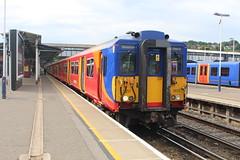5855 (matty10120) Tags: train transport rail railway clas class 455 south west trains guildford