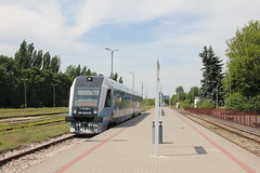 20160717 0092 (szogun000) Tags: zamo poland polska railroad railway rail pkp station railbus szynobus motorcar dmu diesel pesa sa134 sa134015 pr przewozyregionalne train pocig  treno tren trem passenger commuter regio 22943 d2972 lubelskie zamojszczyzna canon canoneos550d canonefs18135mmf3556is