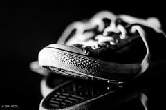 Chucks! (BGDL) Tags: lightroomcc nikond7000 bgdl niftyfifty afsnikkor50mm118g monochrome blackandwhite shoes chucks converse bworsepia weeklytheme flickrlounge