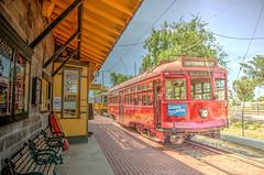 Leaving Pinacate Station (Michael F. Nyiri) Tags: perriscalifornia southerncalifornia riversidecounty orangeempirerailwaymuseum trains railroad
