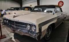 1963 Oldsmobile Starfire convertible (Custom_Cab) Tags: 1963 oldsmobile starfire convertible car white 98 88 olds nixdorf classic summerland bc museum cars british columbia