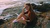 231/366: at the edge (Andrea · Alonso) Tags: me selfportrait 366 365 portrait retrato autorretrato girl woman cliff nature naturaleza ocean rock