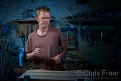 050916---04 (Chris Frear) Tags: pocketwizard flash strobist sb800 nikon d90 nithsdale penpont workshop craftsman dumfries scotland september portrait offcameraflash 2016