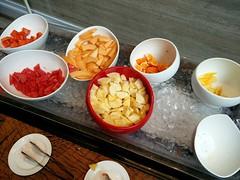 Fruits in a buffet (A. Wee) Tags: fruit buffet sheraton singapore   hotel