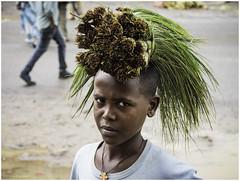 Untitled (Luc V. de Zeeuw) Tags: boy ethiopia head mud papyrus rainy street water wereta amhara