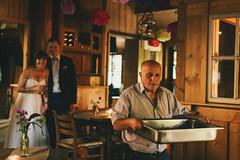 Behind the Scenes (Yuliya Bahr) Tags: wedding bride groom grain filmlook weddingreport indoor restaurant hochzeitsfotografwiesbaden hochzeitsfotografmnchen hochzeitsfotografkln hochzeitsfotograffrankfurt hochzeitsfotografberlin hochzeitsfotografhamburg candid