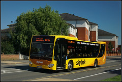 Skylink 907, Loughborough (Jason 87030) Tags: midlands skylink mercedes benz citaro leicester august 2016 sony a6000 ilce flickr tag yellow derbyroad transport route 907 bk64whu greatbritain computer visiting effect exhibition portfolio camera shot site photostream presented filejpgpresentation fascination extreme visit display vista weather season unitedkingdom media amateur