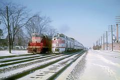 CB&Q E9 9988B (Chuck Zeiler) Tags: cbq e9 9988b gp7 242 burlington railroad emd locomotive naperville dinky train chz chuck zeiler