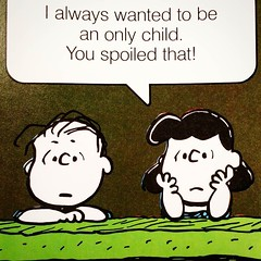 Spoiler alert! #lucy #linus #peanuts #quote #philosophy #collectpeanuts #snoopygrams #snoopylove #vintagepeanuts #ilovesnoopy (collectpeanuts) Tags: collectpeanuts snoopy peanuts charlie brown