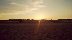 I miss seeing sunsets in live (mafaldammsz) Tags: sunset coucherdesoleil couleurs mer borddemer sea seashore loveseashore sand sable plage beach mediterranee mditerranen mediterranean prochenarbonneplage narbonne