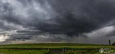 Cloudy Skies (CalTek Design) Tags: storm clouds stormclouds onstorm ontario weather landscape field cornfield rural ominous