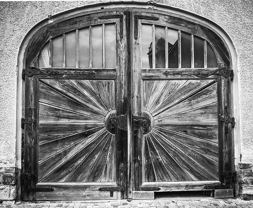 Doors at the Göttweig Abbey