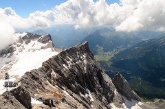 Zugspitze (sillie_R) Tags: austria cloud germany landscape mountain rock zugspitze ehrwald tirol