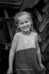 DSC_2621-2 (jameshowardphotography) Tags: mono monochrome black whitby white girl smile pretty portrait woods family location