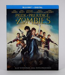 Pride + Prejudice + Zombies Blu-ray (2016) - Amazon Purchase - Slipcover - Front View (drj1828) Tags: pride prejudice zombies lilyjames bluray movie 2016