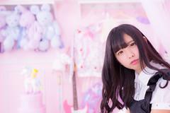 kawaii in pastel pink (fudepentaro) Tags:  ayanataniguchi kawaii pink model portrait photosession