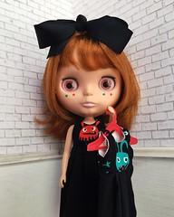 Conrad models Monster Mash collection (TuSabesBlythe) Tags: conrad doll blythe bl kozy kozykape