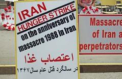 Iran Hunger Strike in Toronto, Ontario, Canada (soniaadammurray - OFF) Tags: digitalphotography iran hungerstrike 1988massacre justice toronto ontario canada freedom workingtowardsabetterworld