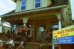 Franks Noodle House (Semiotics) (Savilo_) Tags: film filmphotography streetphotography minoltaxg1 portland portlandor analog 35mm