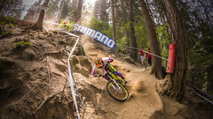 _HUN8666 (phunkt.com™) Tags: uci dh downhill down hill mtb mountain bike world champ championship val di sole italy 2016 photos phunkt phunktcom keith valentine race final finals dust dusty
