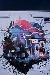 JULIA IREDALE (Michelle Bruton) Tags: vancouver mural art streetart britishcolumbia canada vancity eastvan eastvancouver julia iredale