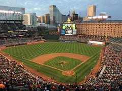 Oriole Park at Camden Yards (karma (Karen)) Tags: baltimore maryland camdenyards oriolepark stadiums baseball