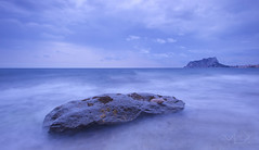 ... Baladrar, sweet baladrar !!! (Device66) Tags: peon de ifach benissa playa cala baladrar device filtros tonos frios blue mare mediterranean seascape nikon