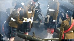 21 Gun Salute11 (lairig4) Tags: castle army scotland stirling military salute historic artillery cannons otc queensbirthday 21gunsalute cityofstirling