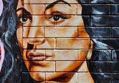 Maria Felix (Jude Z) Tags: street red woman cinema beautiful yellow wall de mexico golden la shoes folk maria murals 18th icon pilsen mexican age american actress era feliz dona oro