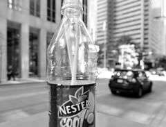 (*bomben*) Tags: street city urban toronto trash nikon bokeh tokina 28 d90 1116mm