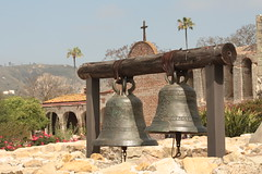 San Juan Capistrano Mission (Kerri Lee Smith) Tags: california flowers gardens bells ruins catholic blossoms sanjuan catus blooms orangecounty capistrano missions swallows sanjuancapistrano