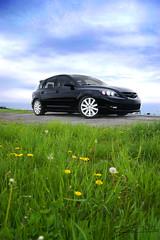 Mazdaspeed 3 (Jared M.) Tags: 3 green clouds vermont turbo gras mazda swanton mazdaspeed mps speed3 anteza