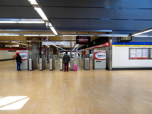 Madrid - Metro - Estación de Villaverde Alto