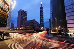 2012 ( ) Tags: light sunset car night track mommy mother taiwan 101  taipei taipei101     mothersday 2012  101 cartrack